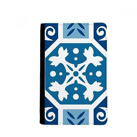 beatChong Marruecos Modelo Abstracto Azul Pasaporte Monedero ...
