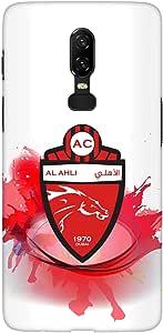 Stylizedd OnePlus 6 Slim Snap Basic Case Cover Matte Finish - Splash Of Al Ahli (UAE)
