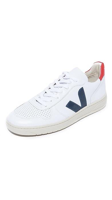 46c3382f64de Veja - VXW021267 - Sneaker DA Donna Modello V10 Leather Extra White ...