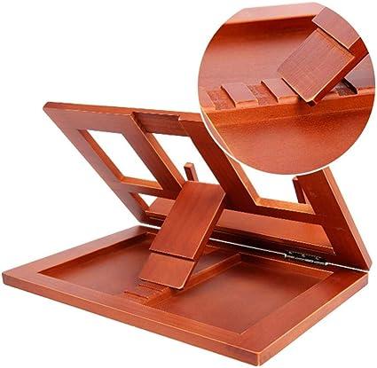 Mesa de soporte de lectura de ángulo ajustable Inicio Atril ...