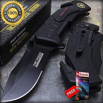 Amazon.com: Cuchillos tácticos de combate de 10 x 7,5 ...