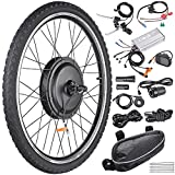 AW 26'x1.75' Front Wheel Electric Bicycle Motor Kit 48V 1000W Powerful...