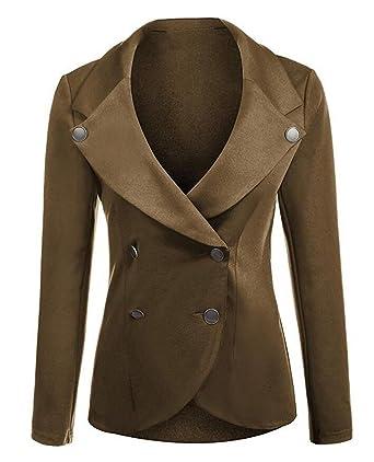 Veste de tailleur femme marron