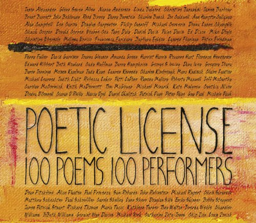 Poetic License 100 Poems/100 P...