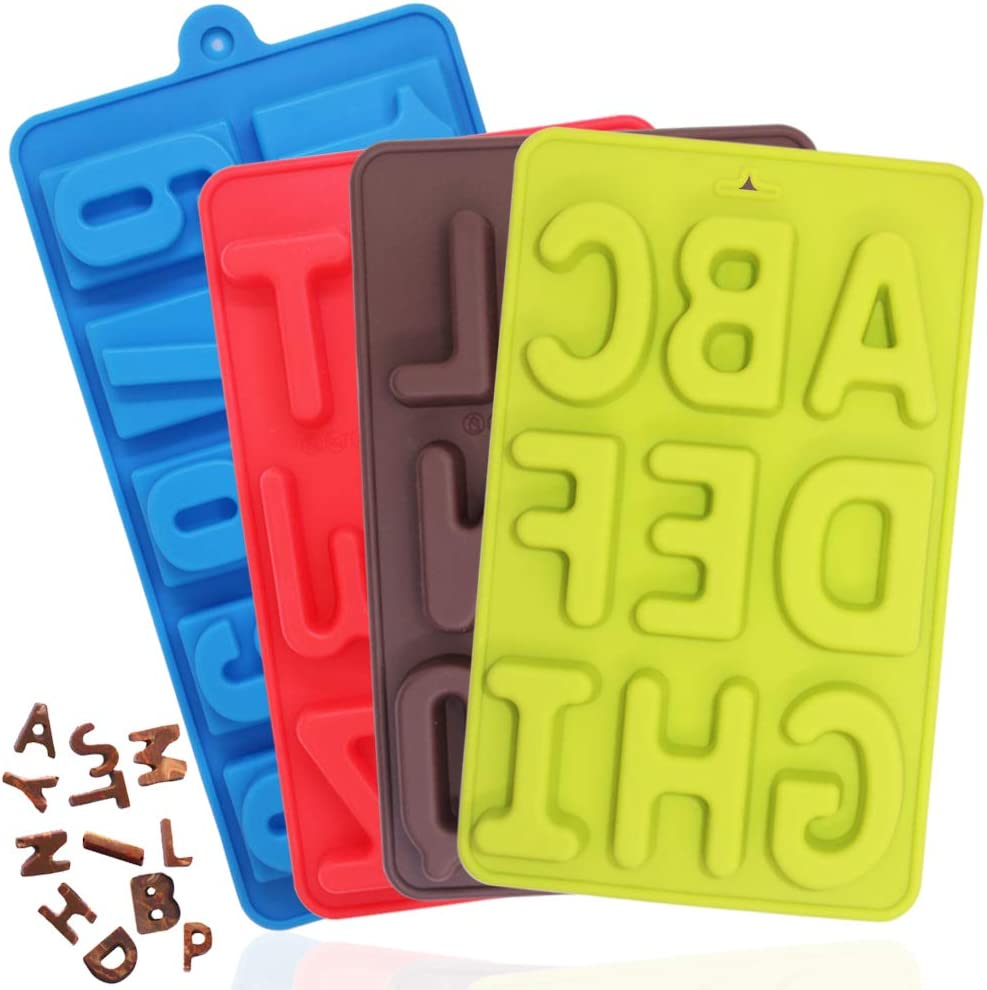Silicone Numbers 0-9 Mold Chocolate Tray Fondant Cake Candle,s Birth Topper N0F5