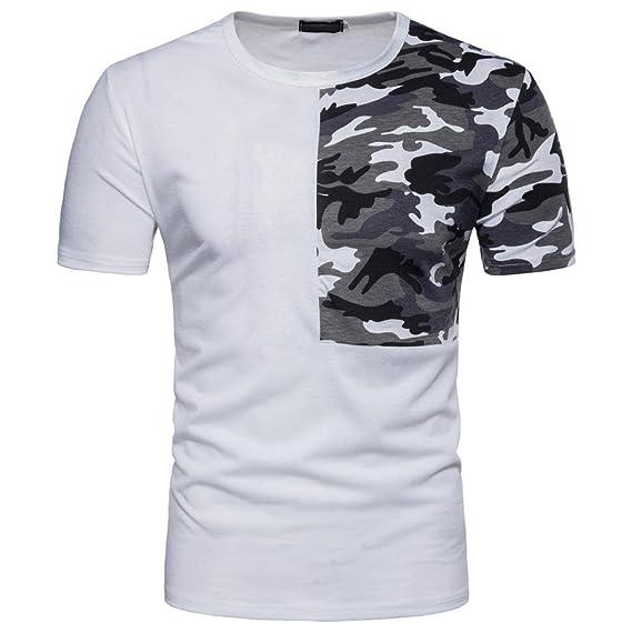 Lenfesh Camiseta Hombres a869a59410e