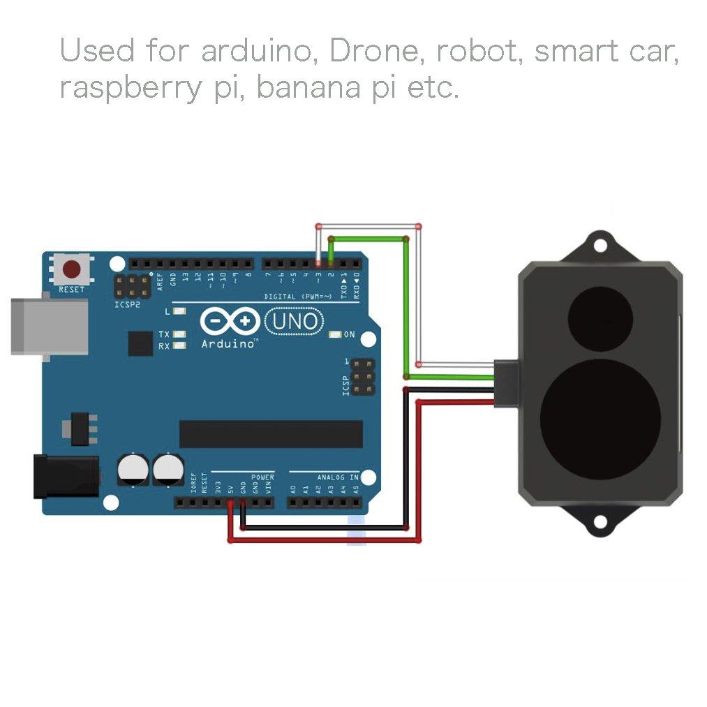 UNIKEL Módulo de sensor Lidar Range Lund Módulo de ...