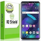 LG V30 Screen Protector (Case-Friendly)[2-Pack], IQ Shield LiQuidSkin Full Coverage Screen Protector for LG V30 HD Clear Anti-Bubble Film
