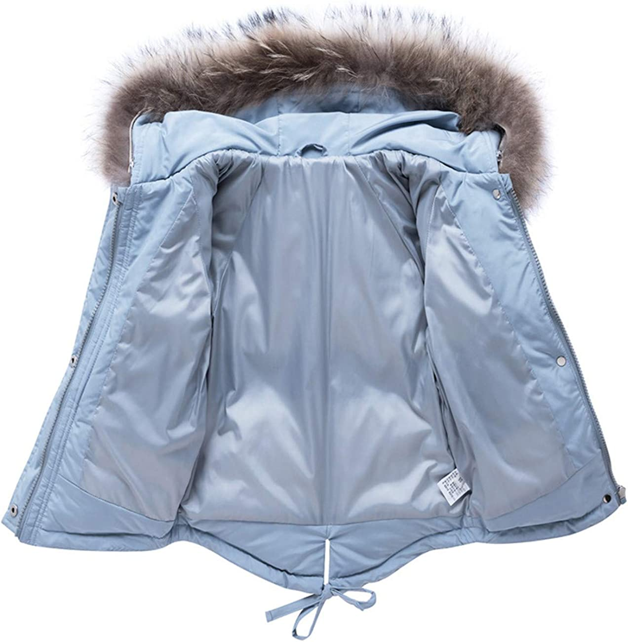JELEUON Baby Girls Two Piece Winter Warm Hooded Fur Trim Snowsuit Puffer Down Jacket with Snow Ski Bib Pants Outfits