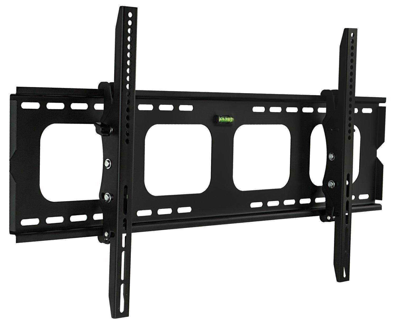 Mount-It! Large Tilting TV Wall Mount Bracket   42 43 50 55 58 65 70 75 80 Inch   220 Pound Capacity   VESA Compatible   Low Profile   Flat Screens by Mount-It!