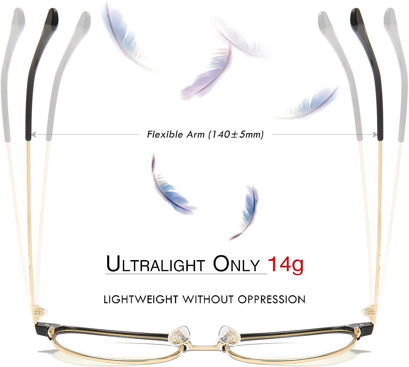 ATTCL Unisex Blue Light Blocking Glasses Eyeglasses Frame Anti Blue Ray Computer Game Glasses