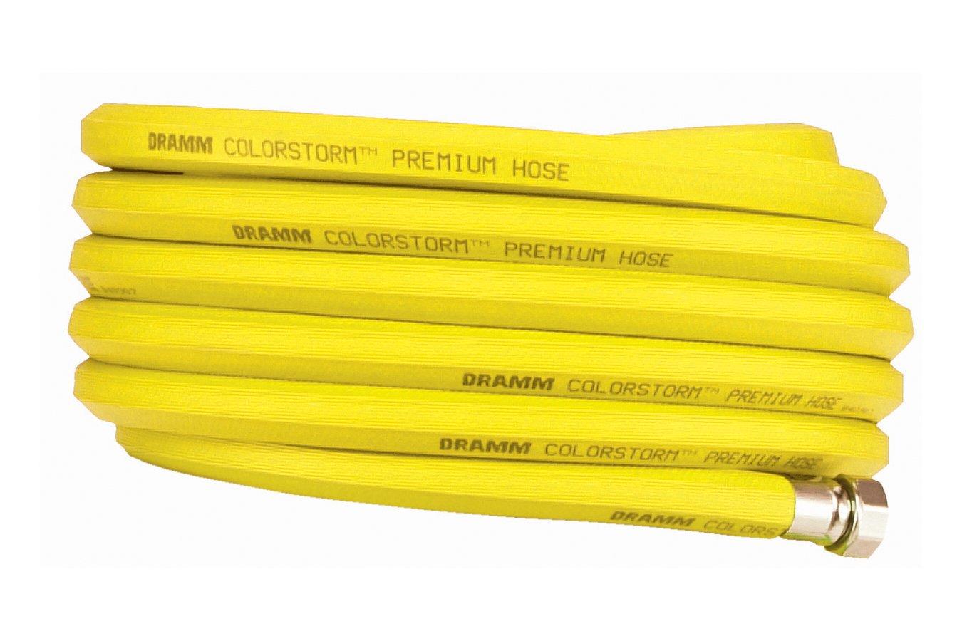 Dramm 17313 ColorStorm Premium Rubber Hose, 3/4'' x 100', Yellow
