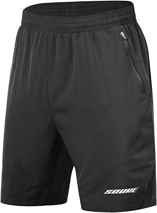"""Under Armour Mens 7/"""" Launch Shorts Running Black Gray NWT Brief Liner Lined L"""