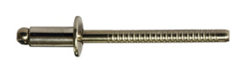 4,0 X 10,0 mm 500 St/ück Edelstahl A4 Edelstahl A4 Flachrundkopf Blindnieten Dichtnieten Nieten