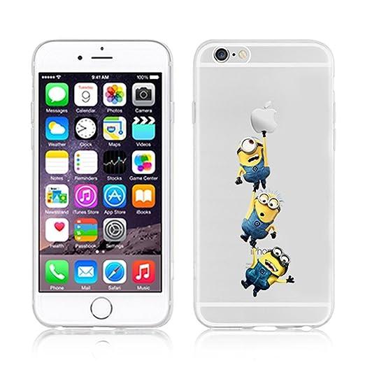 223 opinioni per Disney Minions transparente in poliuretano termoplastico per iPhone-Cover per