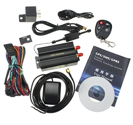 Amazon.com: scooter Car Vehicle GPS SMS GSM GPRS Tracker ...