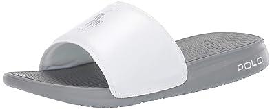 55f75dec6 Amazon.com  Polo Ralph Lauren Men s RODWELL Slide Sandal  Shoes
