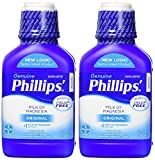 Phillips' Milk of Magnesia, Laxative, Original, 26 Ounce (Pack of 2)