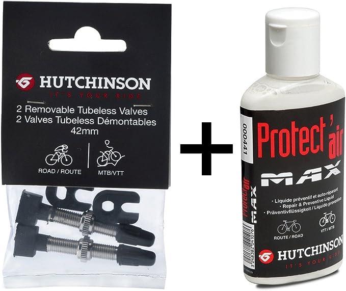 Hutchinson Valvulas Tubeless y Líquido Preventivo Antipinchazos ...