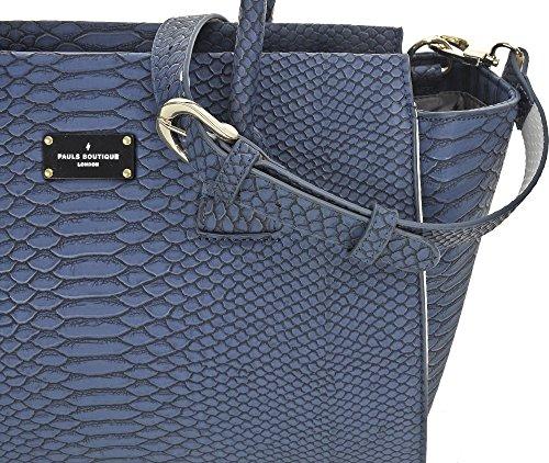Paul's Boutique, Borsa a mano donna blu Dunkelblau