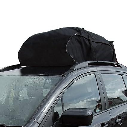 KKmoon Portaequipajes Bolsa Impermeable para Techo de Coche Automóvil SUV Equipaje Almacenamiento Viaje
