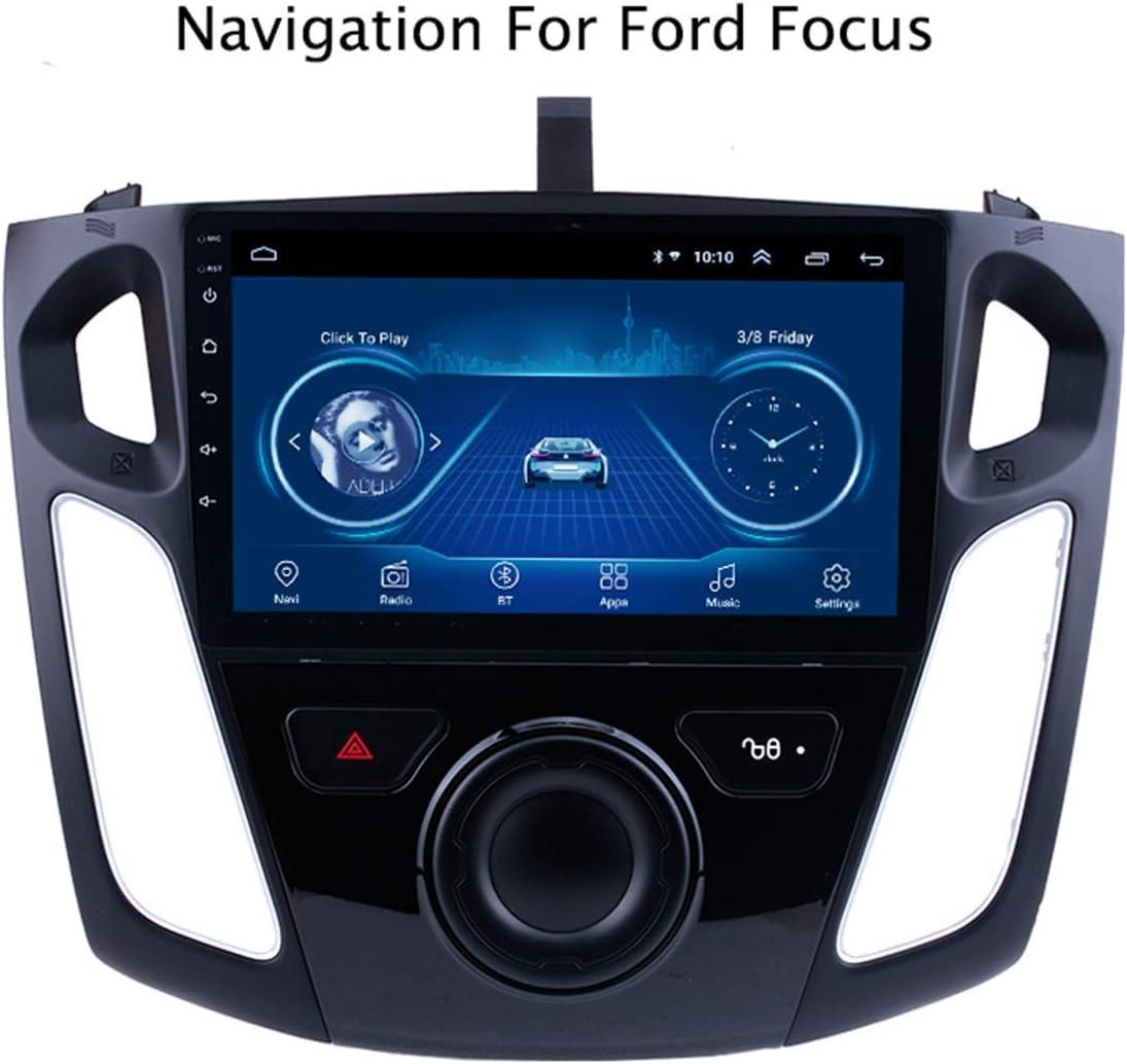 pour Ford Focus 2012-2015 avec Canbus Voiture Sat Nav St/ér/éo Syst/ème de Navigation GPS Navigator Satellite Lecteur Tracker Auto Radio /écran Tactile Miroir Lien