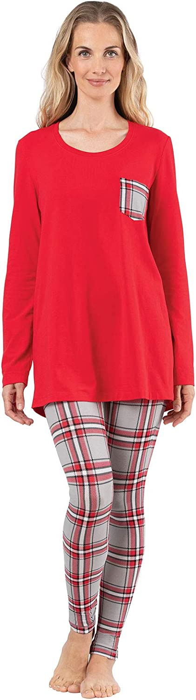 PJs Women Long Sleeve Top /& Leggings Addison Meadow Pajamas for Women