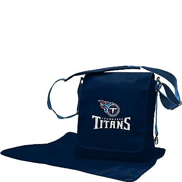 reputable site cf18f 69d5a Lil Fan Diaper Messenger Bag, NFL Tennessee Titans