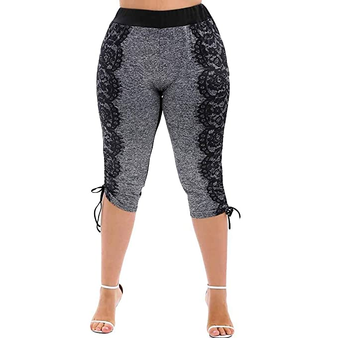 cinnamou Pantalon Yoga Mujer, Leggins Pantalones Cortos Yoga ...