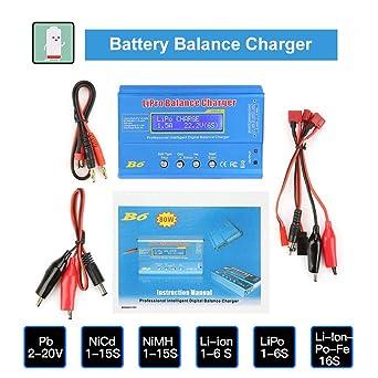 B6 80W 10-20V Cargador De Balance,Cargador/Descargador De ...