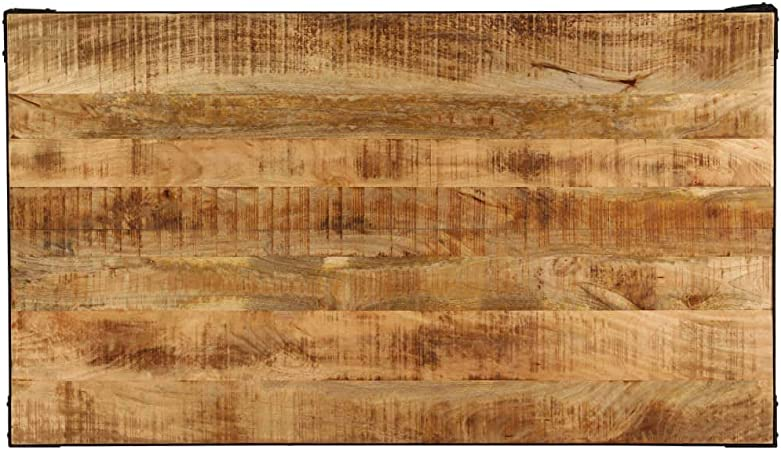 Nishore Tavolo Da Pranzo Stile Industriale 140 X 80 X 76 Cm In Legno Massello Di Mango Tavoli Da Sala Da Pranzo Asadikafsab Arredamento