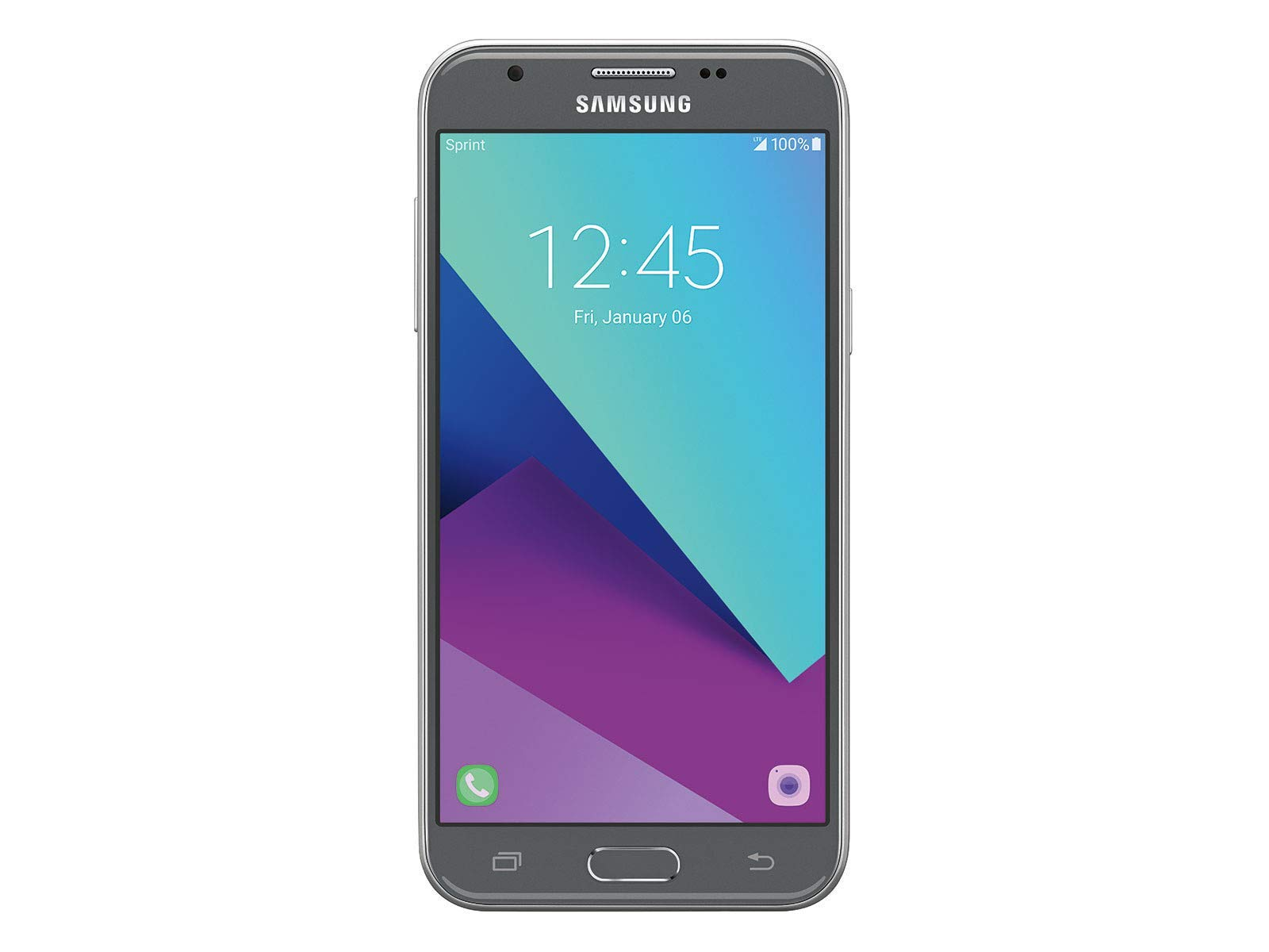 Samsung Galaxy Prime 16GB J327 J3 AT&T T-Mobile Unlocked Smartphone - Silver (Renewed) by Samsung