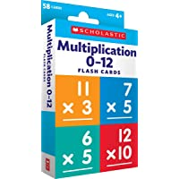 Multiplication 0 - 12 Flash Cards