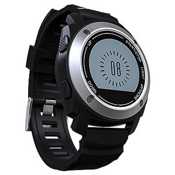Apto tasa de salud reloj inteligente, equipado con soporte GPS Monitor de sueño para ejercicio