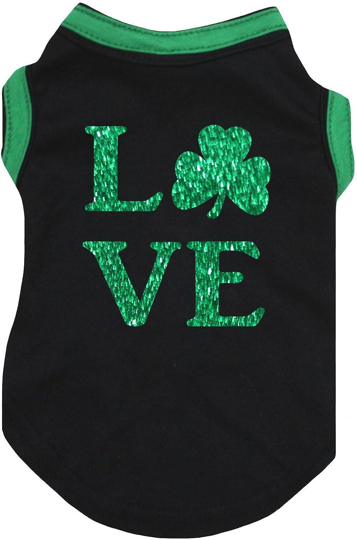 Petitebella Love Clover Puppy Dog Shirt
