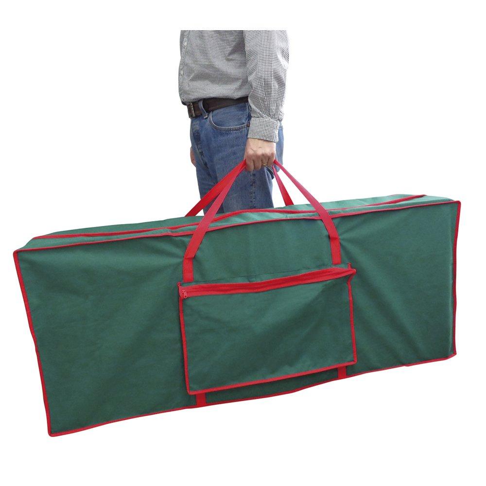 Storage bags for christmas trees - Christmas Tree Fabric Storage Bag 125 X 30 X 50 Cm By Christmas Corner Amazon Co Uk Kitchen Home