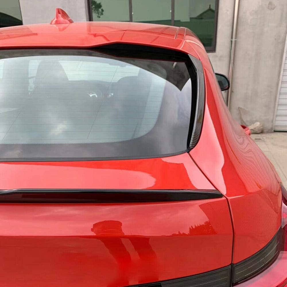 ZHANGJN Couverture De Becquet Couverture Daile Lat/érale De Becquet De Fen/être Arri/ère De Regard De Fiber De Carbone De Voiture pour BMW X4 G02 2019-2020