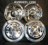 International Freightliner Ford F650 Hubcaps 19.5'' 8 Lug Wheel Simulators