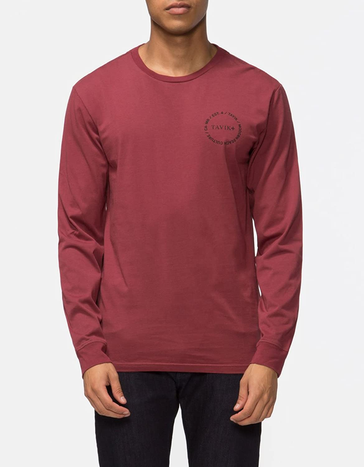 Tavik Men's Crew Long Sleeve Tee