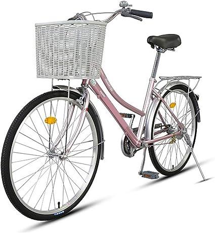 S.N S Bicicleta Aluminio Señoras Coche Viajero Coche Retro Hombres ...