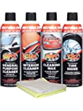 Fast Wax FW1 Detail Kit 4 Pack Waterless Car Wash and Wax