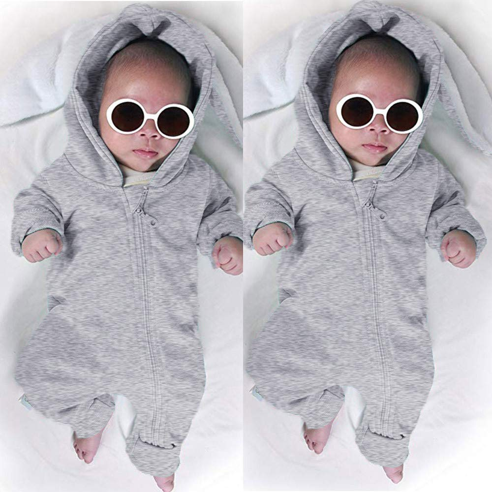 Neugeborene Kinder Baby Jungen M/ädchen Outfits Sets Bodysuit Kaninchen Hoodie Strampler Kleidung F/ür 3-24 Monate i-uend 2019 New Baby Overall