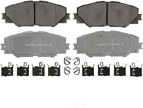 Ceramic Front Brake Pads For Toyota Corolla Matrix /& Pontiac Vibe