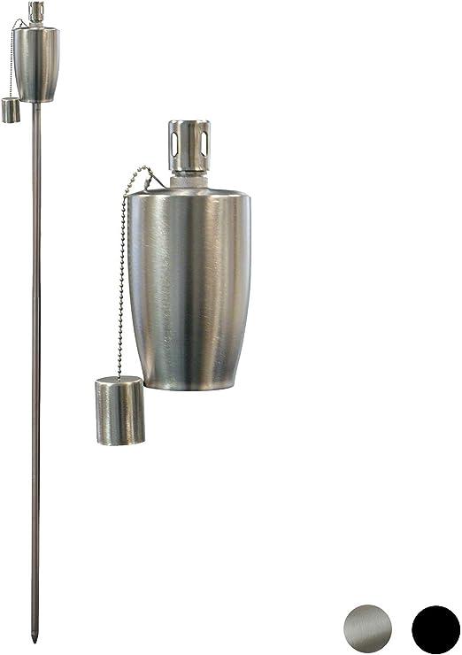 Antorchas de jardín – lámparas de aceite/de parafina de Harbour Housewares – de forma barril de 150 cm: Amazon.es: Hogar