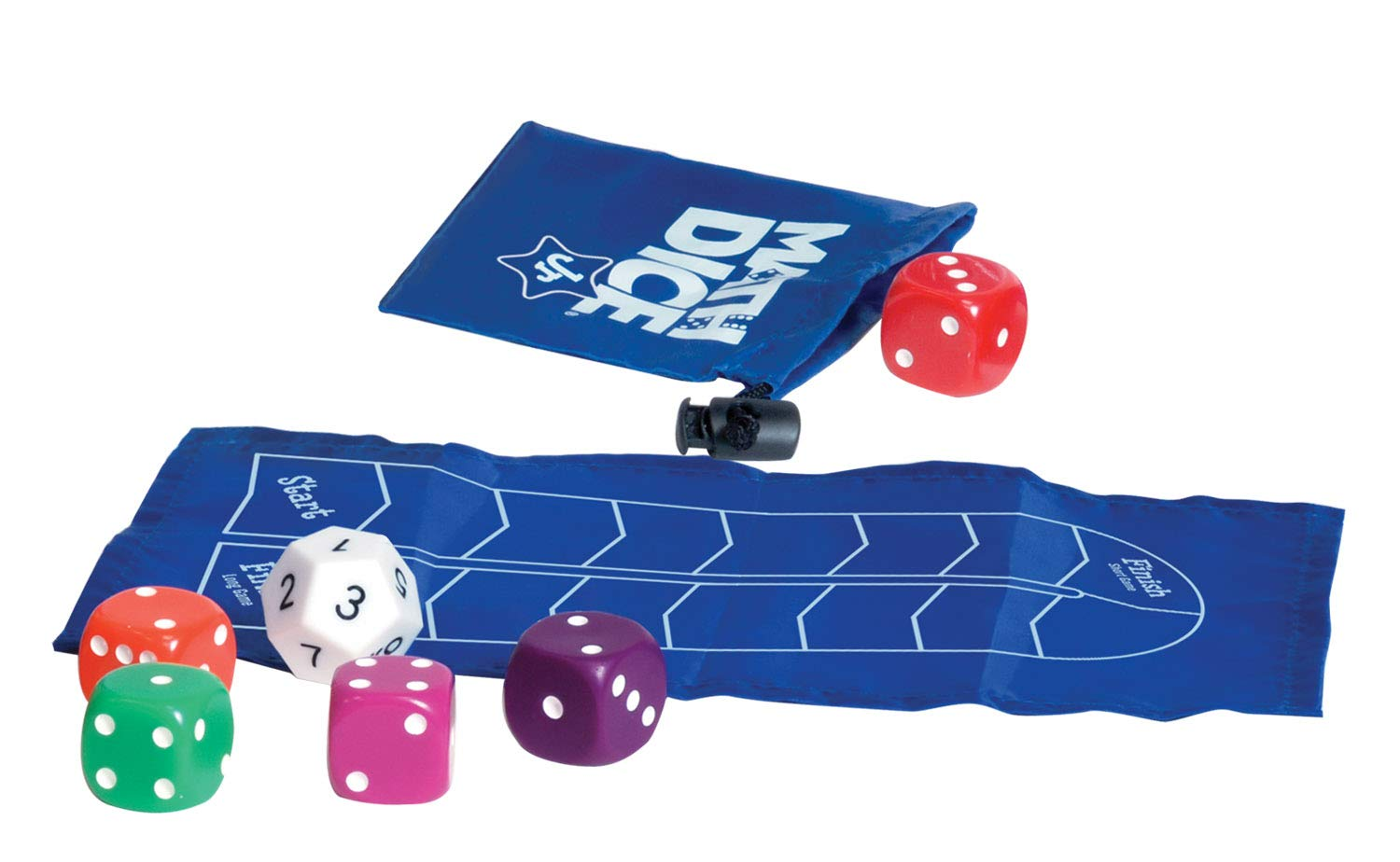 ThinkFun Math Dice Junior Game for Boys and Girls Age 6 and Up
