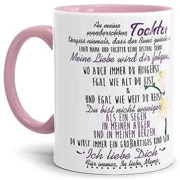 Tasse Mit Spruch Von Der Mama Für Die Tochter Kaffeetassefamilie