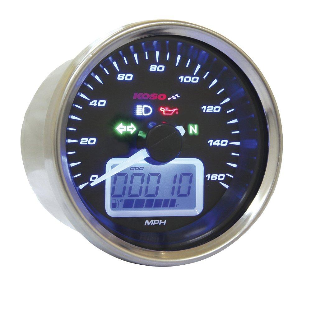 Koso BB641B34 D-64 Multifunction Speedometer