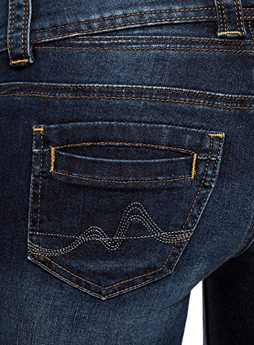 Ultra 7900w Skinny A Vita Jeans Blu Donna Oodji Media z8Cdqww