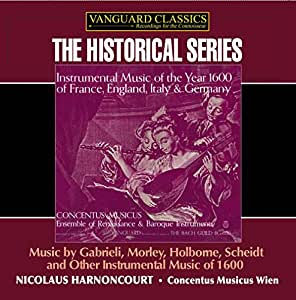 CONCENTUS MUSICUS; N - HARNONCOURT, NICHOLAS:  INSTRUMENTAL)