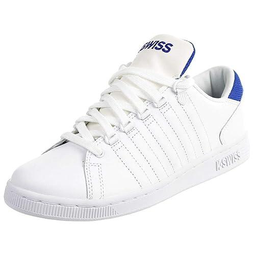 best sneakers afa24 53c90 K-Swiss Lozan III TT Kids Sneaker Schuhe Weiss blau Kinder